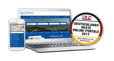 Das Örtliche unter den besten Online-Portalen Deutschlands
