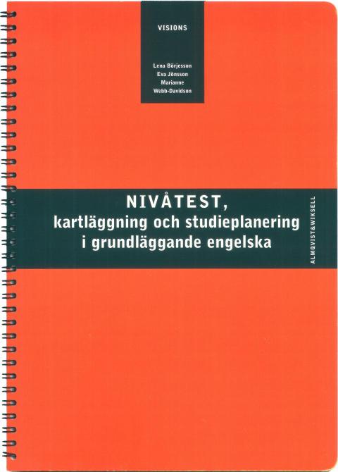 Visions Nivåtest, kartläggning och studieplanering i grundläggande engelska - Steg 1-4