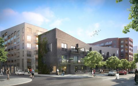 ÅWL utvecklar bostadskvarter i Kista