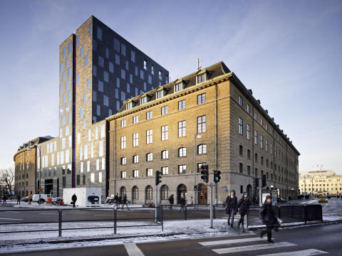 Clarion Hotel Post - Finalist i European Copper Awards