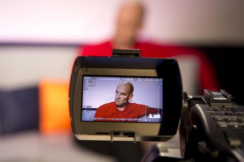 Mynewsdesk CEO Peter Ingman at Guardian Changing Media Summit