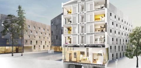 IDAG INVIGS Einar Mattssons innovativa studentbostäder på KTH av Christer Fuglesang