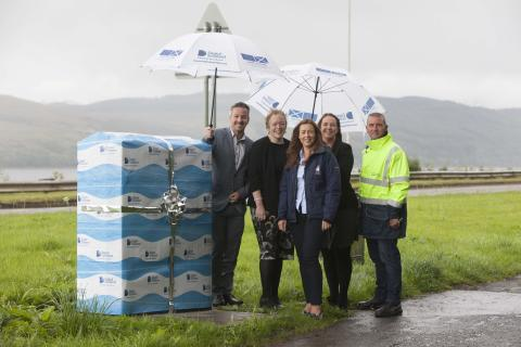 Fibre boost sails into Rhu thanks to Digital Scotland Superfast Broadband