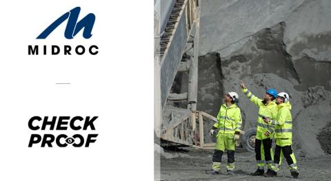 Midroc Europe investerar i CheckProof