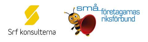 Nytt samarbete mellan Srf konsulterna och Småföretagarnas Riksförbund