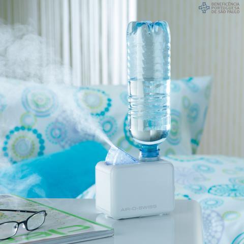 Saiba como usar umidificadores de ar durante os dias secos