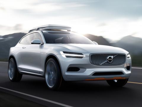 Volvo Concept XC Coupé: Kapabel och säker i elegant förpackning, med inspiration från utrustning för äventyrssporter