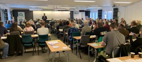 Välbesökt distriktsstämma med Europavalstema och motionsrekord för Centerpartiet