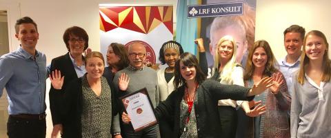 LRF Konsult  utnämnt till ett av Sveriges 100 karriärföretag för andra året  i rad