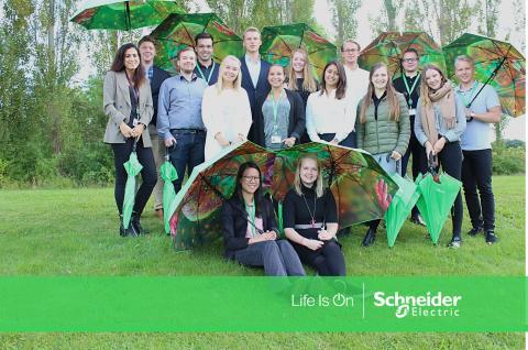 Schneider Electric storsatsar på traineeprogrammet Energy Generation 2018