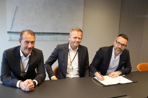 Schenker AS och Green Cargo tecknar nytt avtal för järnvägstransporter mellan Oslo och Narvik