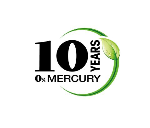 Sony mercury free