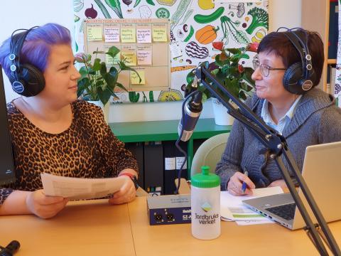Podcast nytt sätt att nå ut med rådgivning