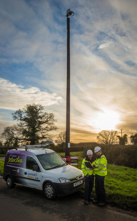 Deep thinking for Fastershire planners as they bring superfast broadband speeds to Gloucestershire village