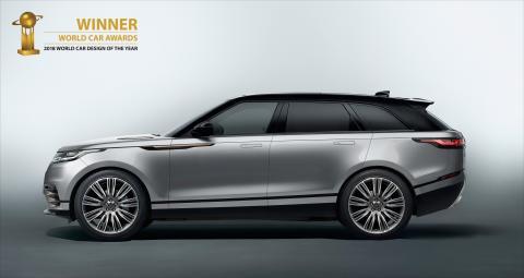 Världens vackraste bil heter Range Rover Velar