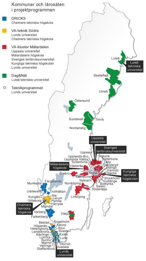 SVU-rapport 2014-22: En evaluering av Høgskoleprogrammet, Svenskt Vatten Utveckling (dricksvatten,  rörnät, klimat, avlopp, miljö, management)