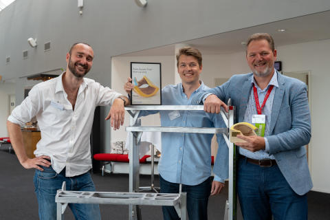 SpaceInvader vinder Dansk Supply Chain's Start-up Pris