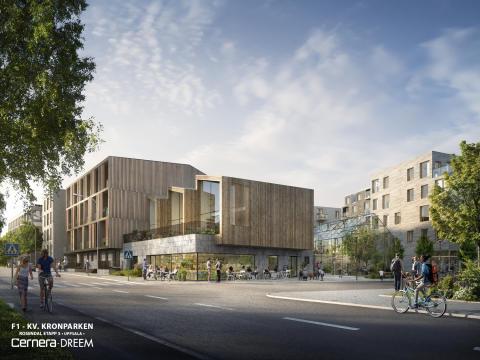 Dreem arkitekter inspireras av möjligheter med trä