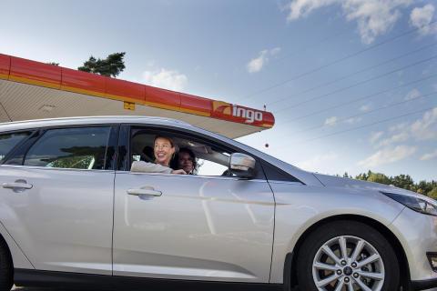 INGO öppnar automatstation i Lödöse