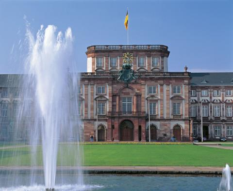 slott i Mannheim, Tyskland