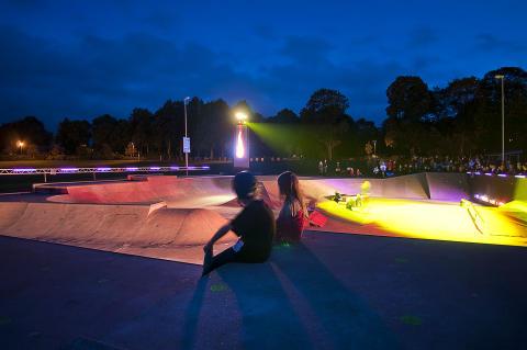 Lights in Alingsås prisas i Europa