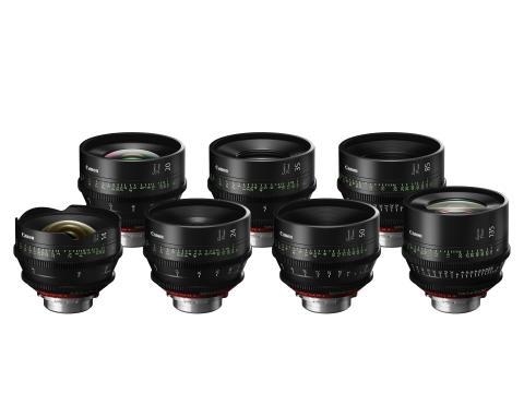Canon lanserer Sumire Prime-serie – syv nye cinema-fastobjektiver med PL-fatning