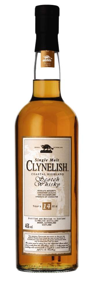 CLYNELISH 14 YEAR OLD, 70 cl 46,0 Vol %