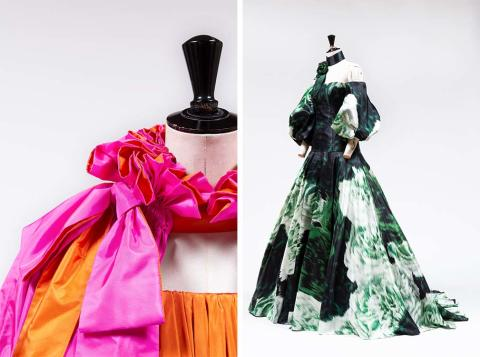 New exhibition of Pär Engsheden and Sara Danius's Nobel Gowns at Nationalmuseum