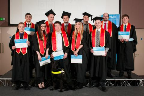 UKITA member TDM Wyre Academy celebrates apprentices success