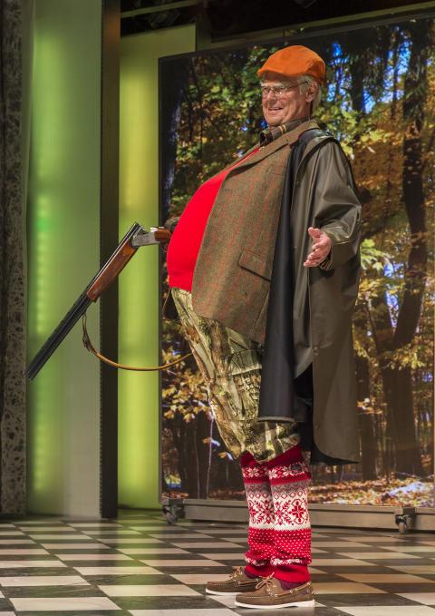 Cirkusrevyen 2015, Ulf som Prins Henrik