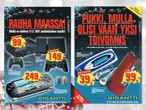 Muistatko nämä? Gigantin ostetuimmat joululahjat 2005 – 2014