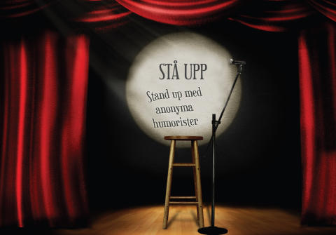 STÅ UPP! Stand up med Anonyma humorister