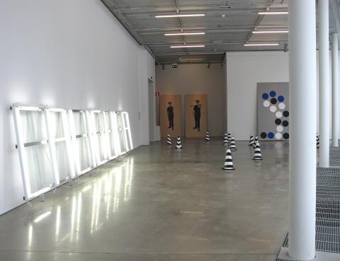 Gardar Eide EInarsson, But, What Ends When The Symbols Shatter, 2009: Caligula, 2010; Untitled (Barrels) [Utan titel (Fat)], 2006