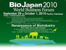Meet us: BIO Japan 2010 - largest biotech forum for open innovation