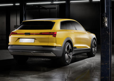 Audi h-tron quattro rear