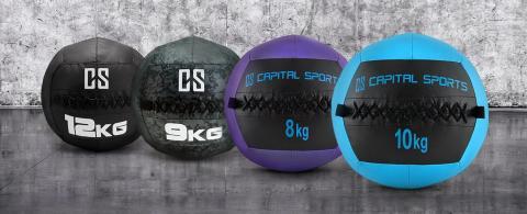 Runde Sache – Zur persönlichen Topform mit CAPITAL SPORTS Wall Balls