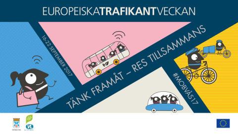 Start för Europeiska trafikantveckan