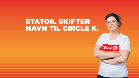 Statoil skifter til navn til Circle K