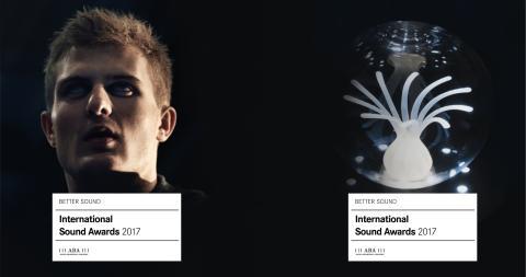Sveriges två bidrag i International Sound Awards kommer från Lexter