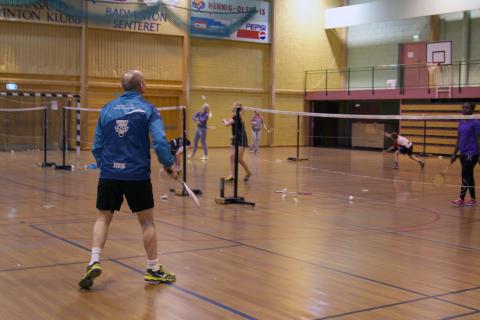 Ildsjel i Kristiansand Badmintonklubb - I farta