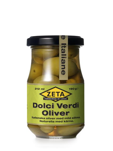 Zeta Dolci Verdi - en italiensk delikatessoliv