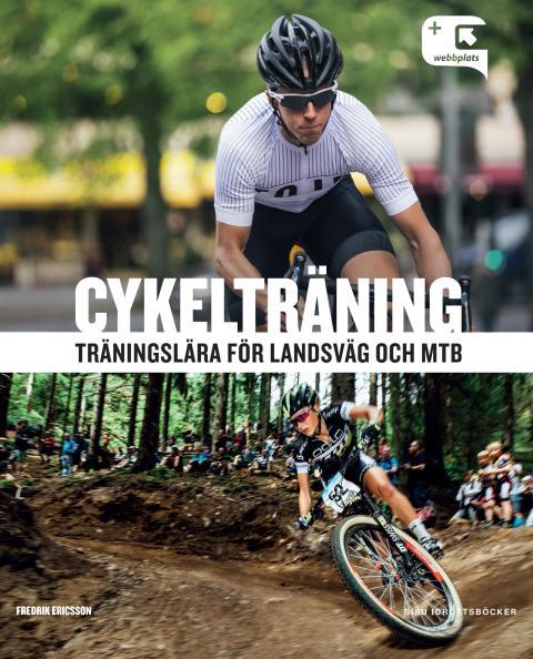 Omslag: Cykelträning - träningslära för landsväg och MTB