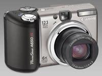 Avancerad fotoutrustning för alla: PowerShot A650 IS och PowerShot A720 IS