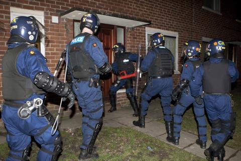 Eight people arrested following drugs warrants in Bury today