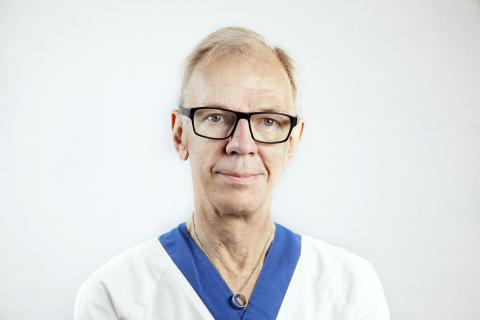 Arne Linder, överläkare inom öron-näsa-hals