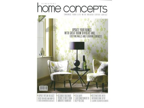 Evorich Flooring Featured on Home Concepts Magazine