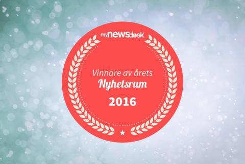 Telia vinner pris som Årets nyhetsrum 2016