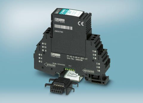 Intelligent surge protection for data interfaces