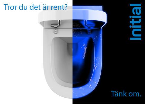En toalett kan se ren ut. Men tänk igen