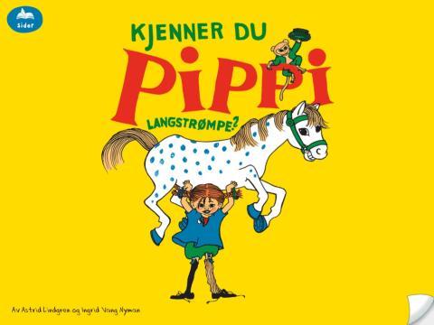 Pippi-app forside